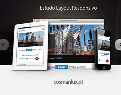 Vários projetos de web design responsivo