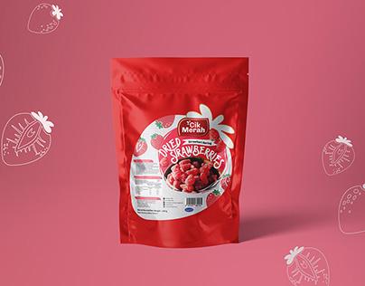 Dried Strawberries | Branding & Packaging