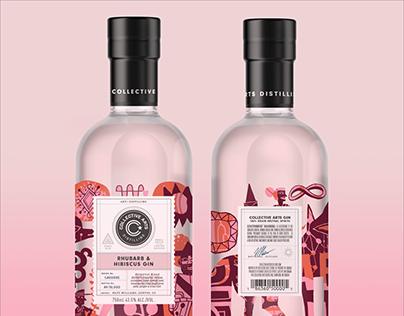 Rhubarb & Hibiscus Gin, Collective Arts, Nate Williams