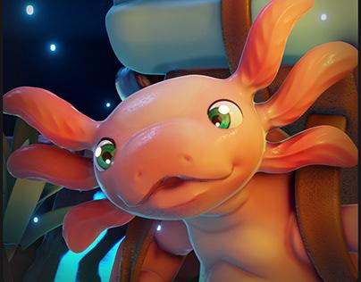 "Axolotl Explorer ""Original Concept"""
