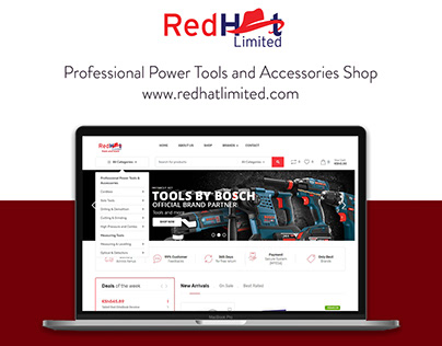 Professional Power Tools & Accessories eCommerce Site