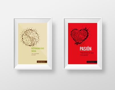 Poster Series: Valores