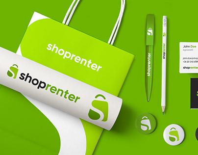 Shoprenter logo & branding