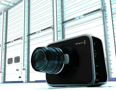Blackmagic Cinema Camera 3D Model