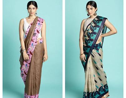 Bhagalpuri silk sarees online shopping for women.