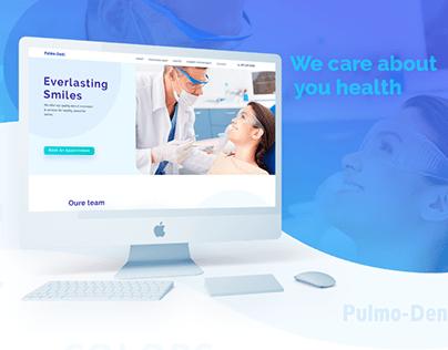 Web Design. Dentistry. Pulmonology