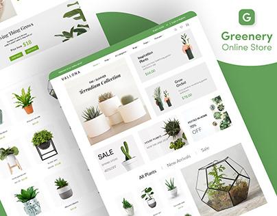 Greenery Online Store