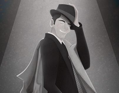 Frank Sinatra   Illustration