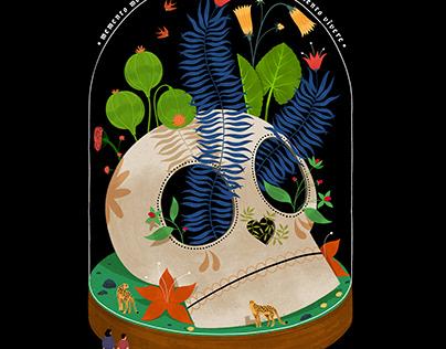 Memento mori / Memento viere Poster Design