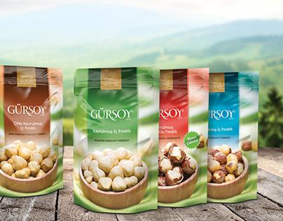 Hazelnut package design.