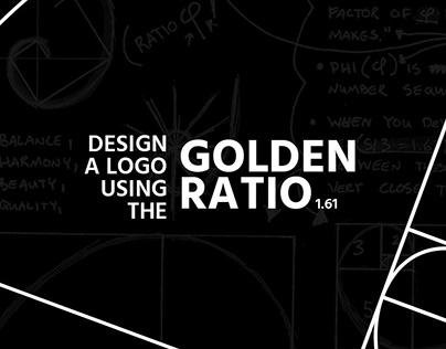 Design a logo using the Golden Ratio