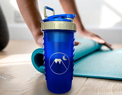 Promotional Shaker Bottle and Cap Design