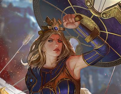 Athena - Mastery Skin - Smite