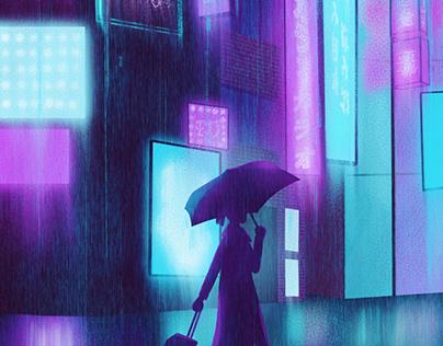 Rainy Travel Day