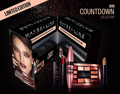 MAYBELLINE- Countdown Collection Holiday Promotion