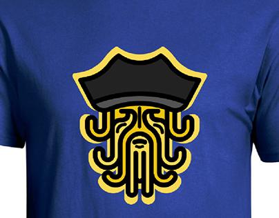 Davy Jones_Octopus T_Shirt Design