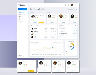Medical Dashboard UI Design