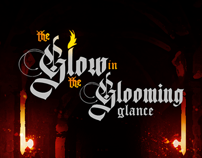 Project game - The Glow in the Glooming Glance
