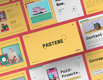 Pastel Multipurpose Template