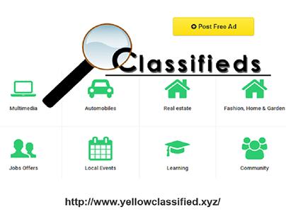 Yellow Classified on Behance