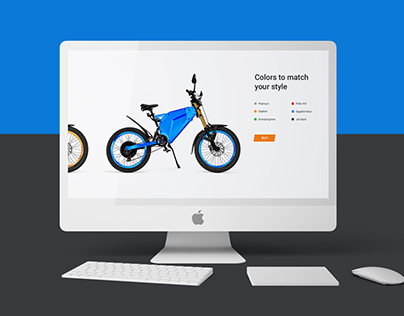 Landing page for Delfast