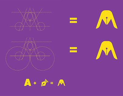 A writer Logo Design