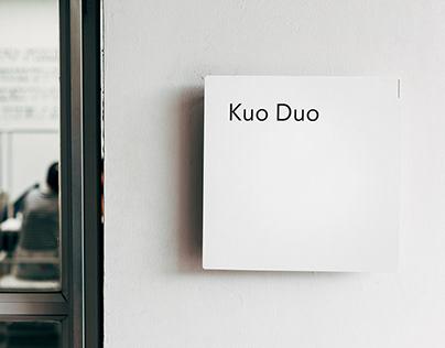 Kuo Duo Studio Branding