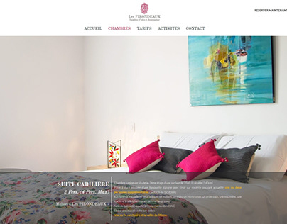 Website design for a Guesthouse