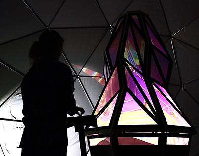 Immersive Digital Landscapes @ Moonrise festival