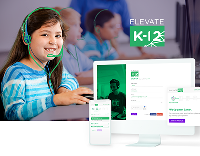 Elevate K-12 HR Portal UI & UX Design