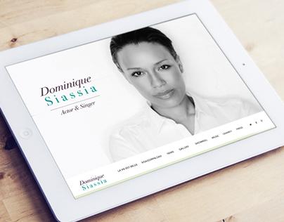 Website Actor & Singer Dominique Siassia