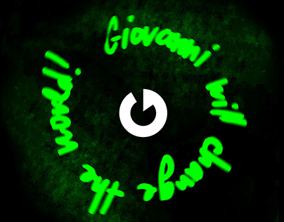 Giovanni Logo and Website