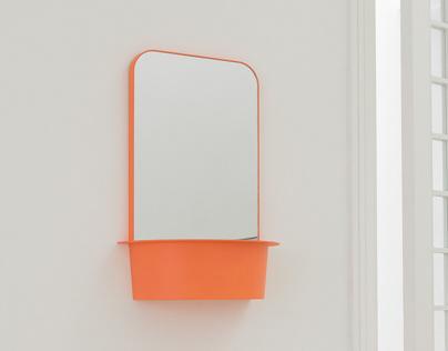 Flow-bathroom mirror