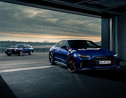 Audi Sport x Audi Tradition