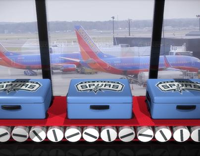Southwest Airlines Suitcase Shuffle