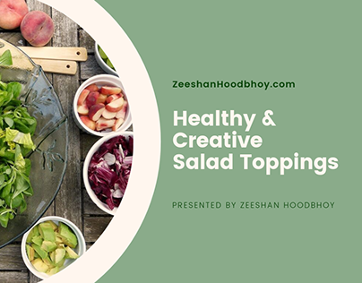 Healthy & Creative Salad Toppings