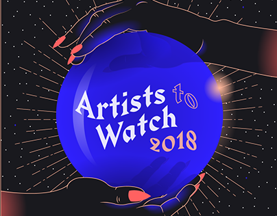 Red Bull Music - Artists to Watch 2018 playlist cover