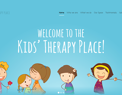 Kids' Therapy Place Website