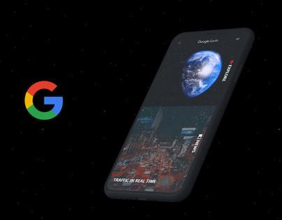 Google Earth APP | Concept Design