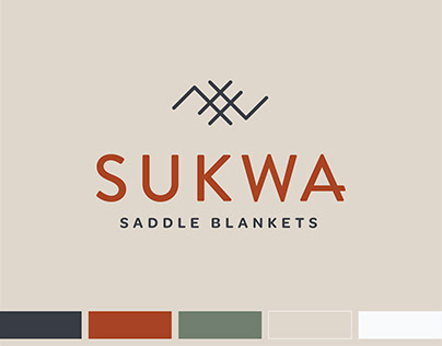 Brand Identity Design for Sukwa Saddle Blankets