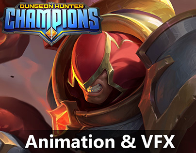 Dungeon Hunter Champion - Animation & VFX work