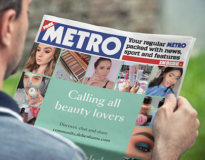 Debenhams Beauty club community cover wrap