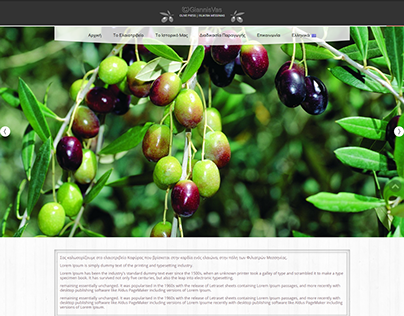 Wordpress Responsive Site For Local Olive Press