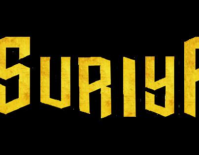 suriya typography