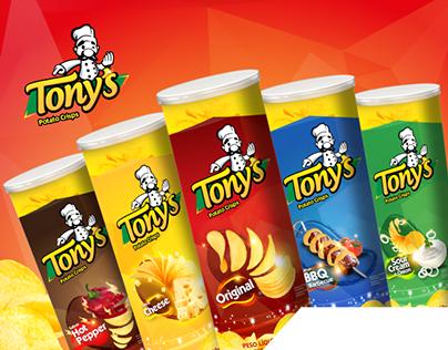 Embalagens Batata Tony's