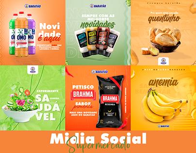 Social Media 2020 Supermercado Baratão