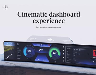 Car Dashboard UI