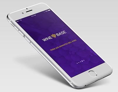 Wine Base - Wine App Concept