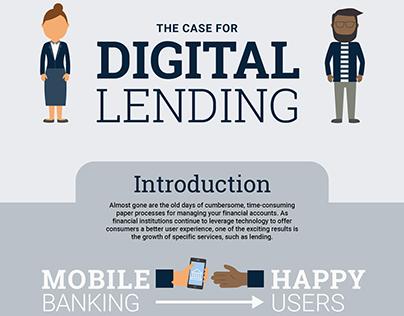Digital Lending Infographic
