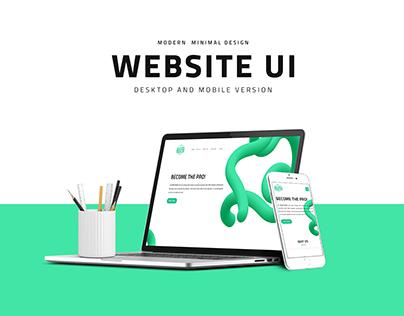 Aided Trade | Website UI